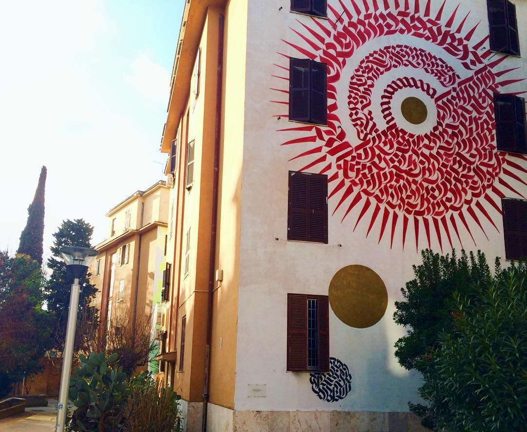 Artist: Domenico Romeo  Location: Rome Italy  ℹ More info at StreetArtRat.com  #travel #streetart #street #streetphotography #tflers #sprayart #urban #urbanart #urbanwalls #wall #wallporn #graffitiigers #stencilart #art #graffiti #instagraffiti #instagood #artwork #mural #graffitiporn #photooftheday #streetartistry #pasteup #instagraff #instagrafite #streetarteverywhere #rome #italy #follow