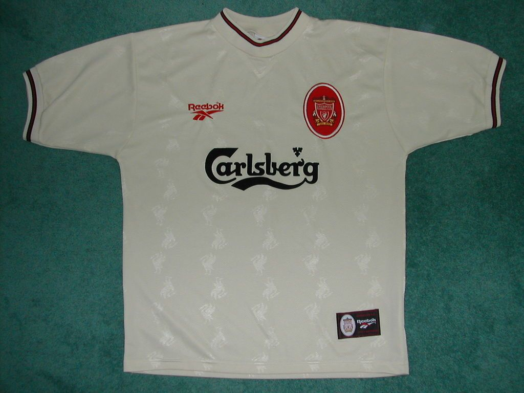 buy online 0bf56 49f04 1996-97 Away Kit | All Things Liverpool | Mens tops, Men, T ...