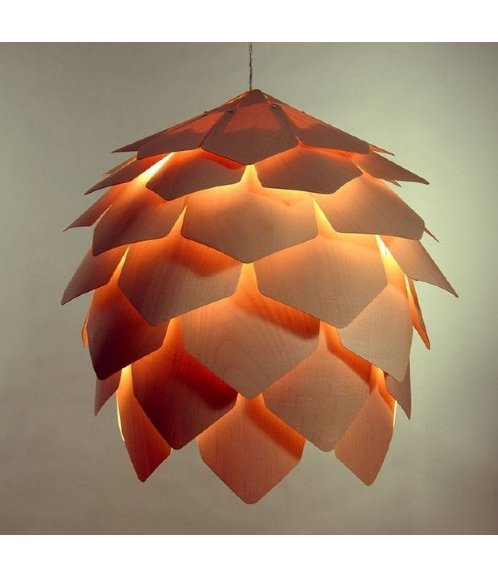 Unusual pendant lamps inspired by medusas digsdigs - Replica Crimean Pinecone Pendant Lamp By Pavel Eekra