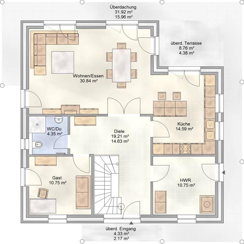 art 192 mediterraner stadtvilla grundriss grundriss pinterest stadtvilla grundrisse und. Black Bedroom Furniture Sets. Home Design Ideas