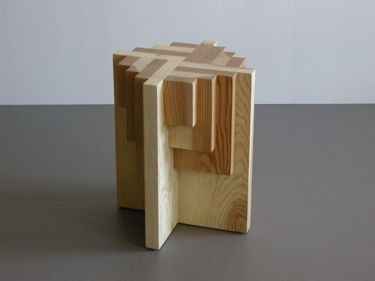 Parquet Table/Stool   San Francisco Bay Area Modern Furniture .