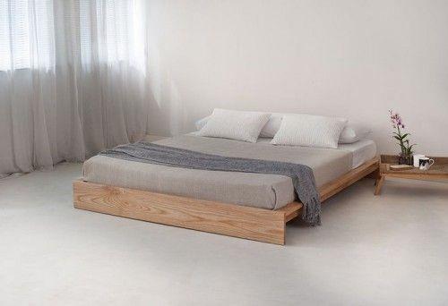 stoer bed hippo van steigerhout met staal bed slaapkamer bed