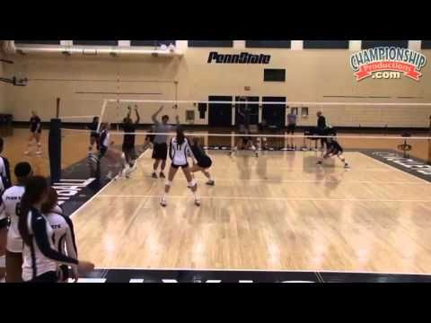 Outside Hitter Training Russ Rose S 15 Point Game Volleyball Toolbox Volleyball Volleyball Drills Volleyball Skills