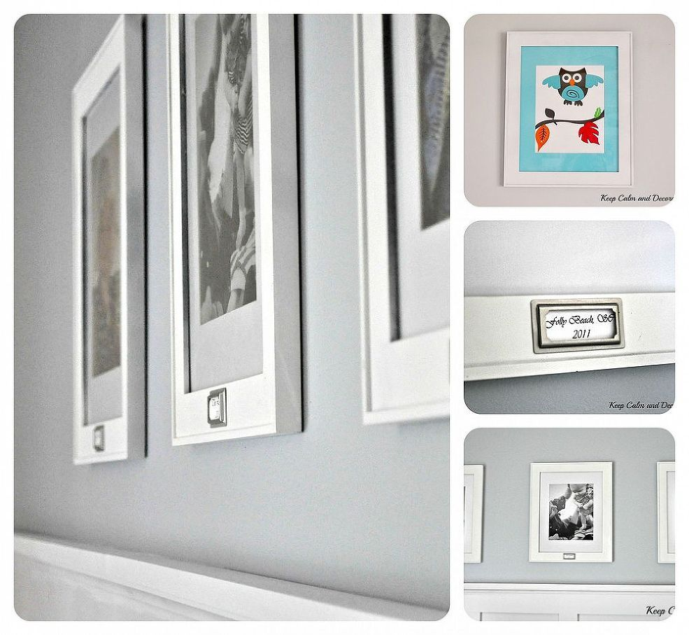Updating Dollar Store Picture Frames | Pinterest