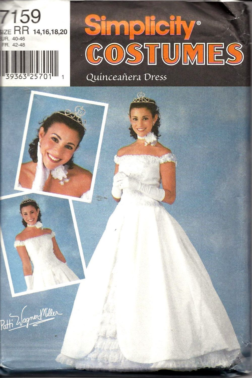 Size 20 a line wedding dress  Simplicity  QUINCEANERA DRESS Formal Evening Gown Bridal Sewing