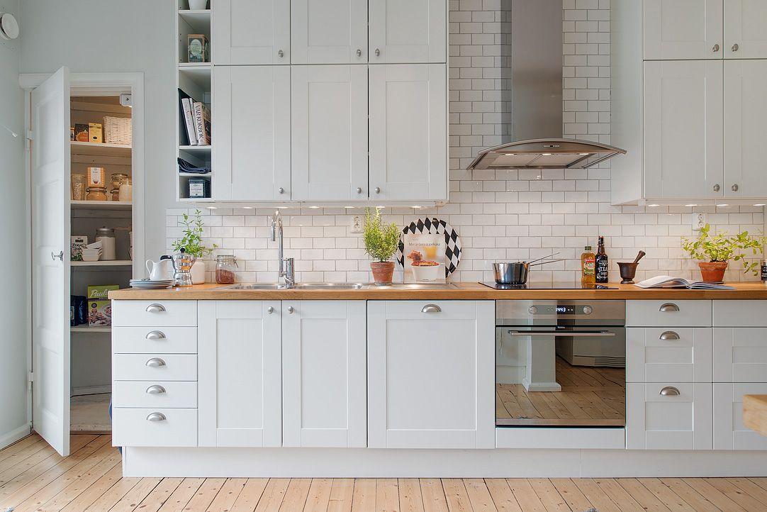Resultado de imagen para cocinas integrales blancas con beige - Cocinas Integrales Blancas