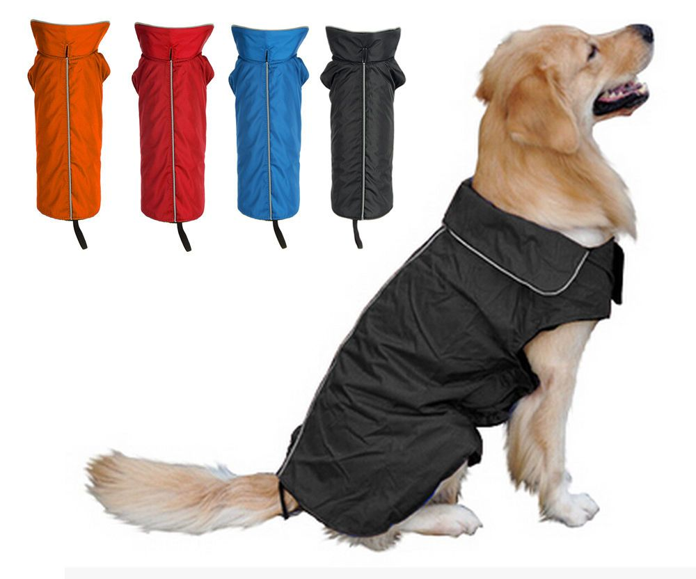 Pet Dog Winter Warm Coat Jacket Coats Vest Sweater Waterproof With