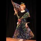circle dress via Art on Legs Wearable Art show (sorry, no designer listed!)