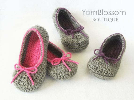 Toddler Crochet Pattern The Kayla Slipper 6 Toddler Shoe Sizes