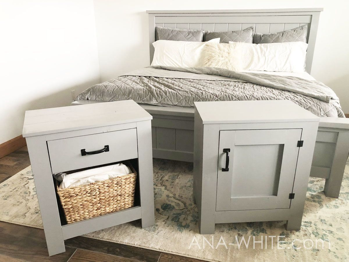 Farmhouse bed standard king size 1000 in 2020