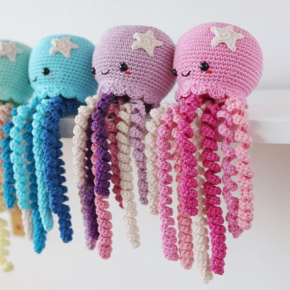 Cute Crochet Octopus toy for Preemie