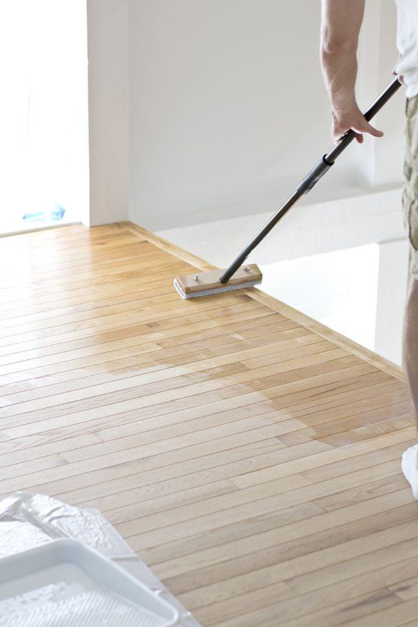 Refinishing Hardwood Floors With A Rental Floor Sander Refinishing Hardwood Floors Diy Hardwood Floors Flooring