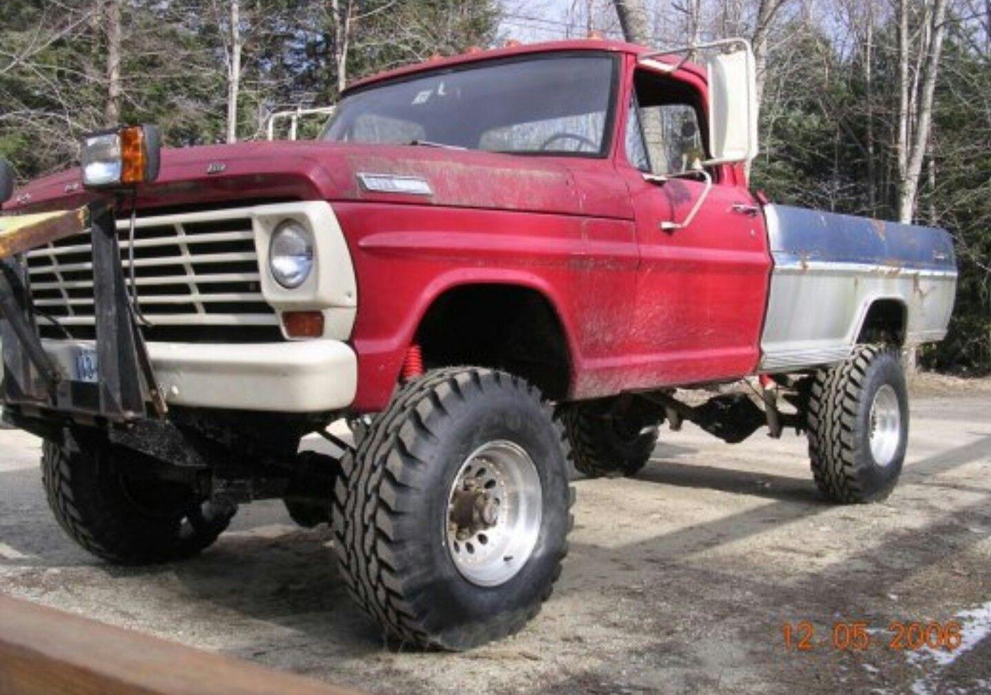 67 Ford Highboy Ford Trucks 4x4 Trucks Cool Trucks