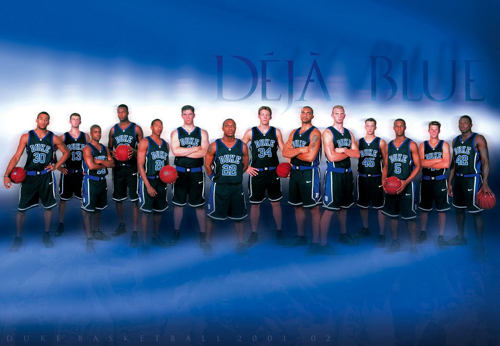 2001 2002 Duke Mens Basketball Posters College Team