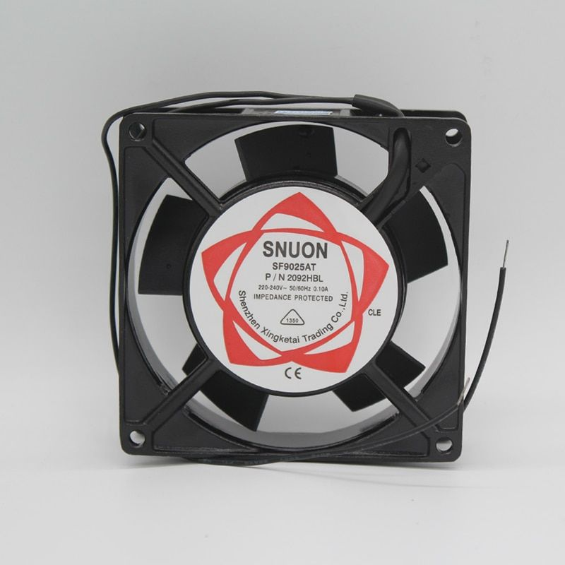 2pcs Lot Cheaper Sell Sleeve Bearing Type 220vac Axial Cooling Fan 9cm Series Small Fans Use For Electric Cabinet Xf0922as Small Fan Cooling Fan Brazilian Real