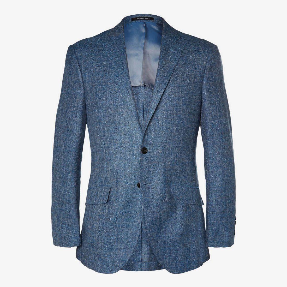 Pick of the Day: Richard James Blue 'Hyde' Jacket - http://www.mnswr.com/pick-of-the-day-richard-james-blue-hyde-jacket/ Menswear style inspiration    #menswear #mensfashion #mensstyle #style #sprezzatura #sprezza #mentrend #menwithstyle #gentlemen #bespoke #mnswr #sartorial #mens #dapper