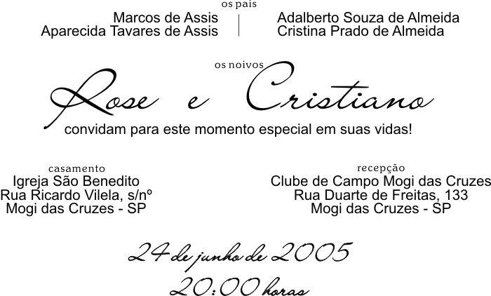 Convites Sugestão De Texto Casamento Convite De Casamento Pinterest
