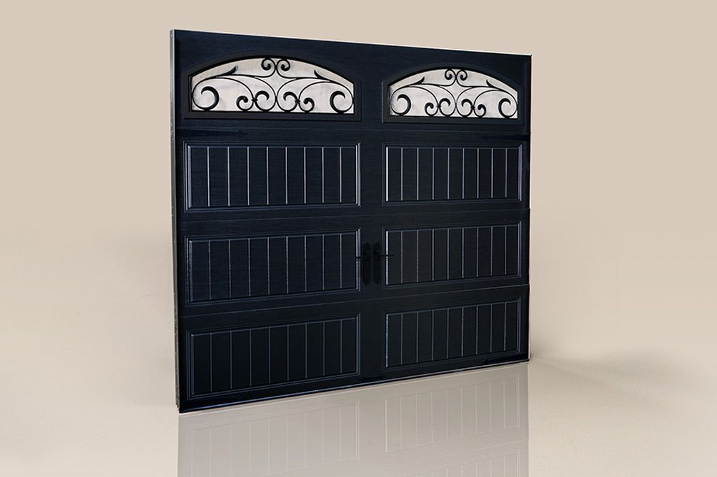 Dramatic Curb Appeal Clopay Gallery Collection Steel Carriage