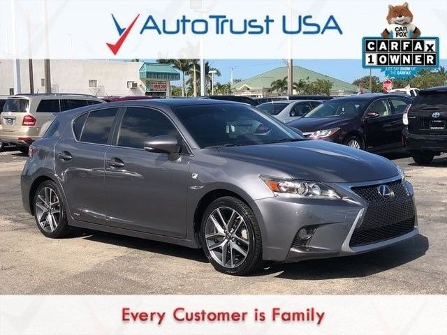 Awesome 2015 Lexus CT 200h 200h 1 OWNER FSPORT NAV SUNROOF BACKUP