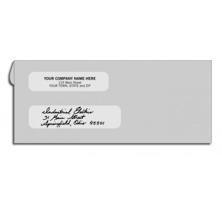 Gray Kraft Envelopes For Checks Free Shipping Kraft Envelopes Business Envelopes Free Company Logo