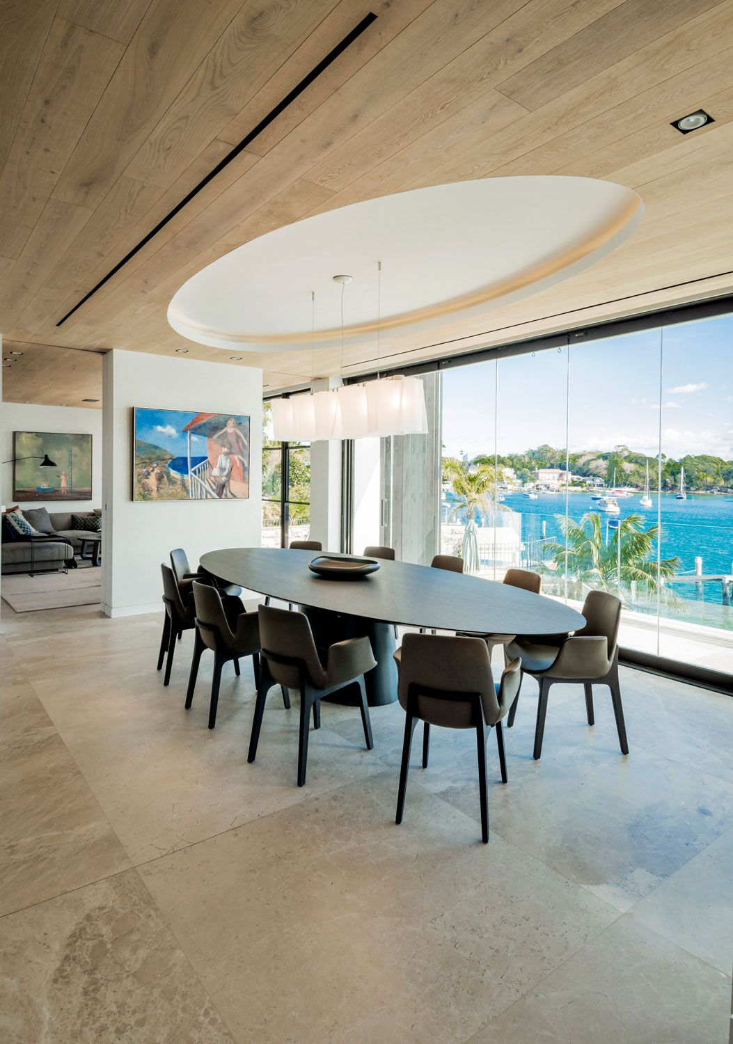 The Peninsula House By Stafford Architects And Hare Klein