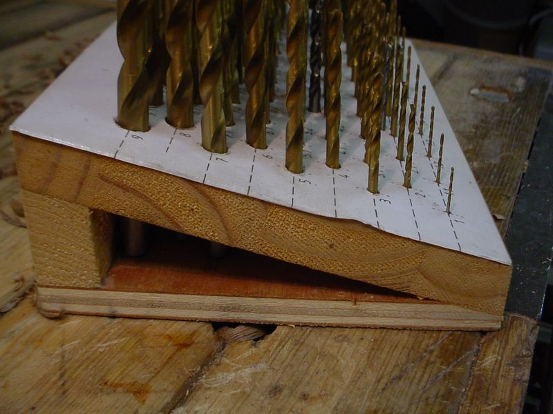 Drill Bit Forest Or A 0 1mm Stepped Drill Bit Set Holder