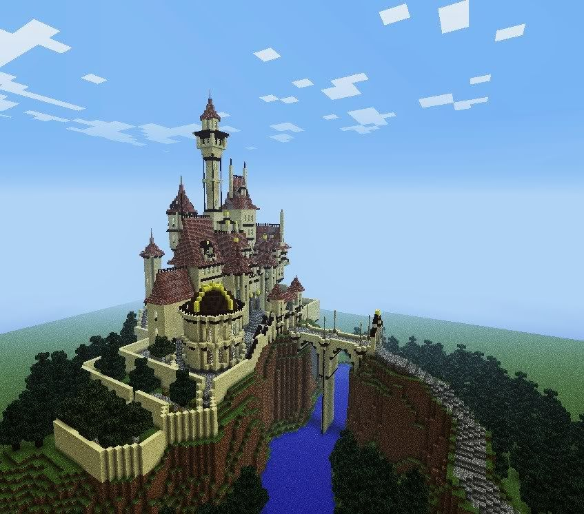 Beauty And The Beast Castle - Screenshots - Show Your Creation - Minecraft Forum