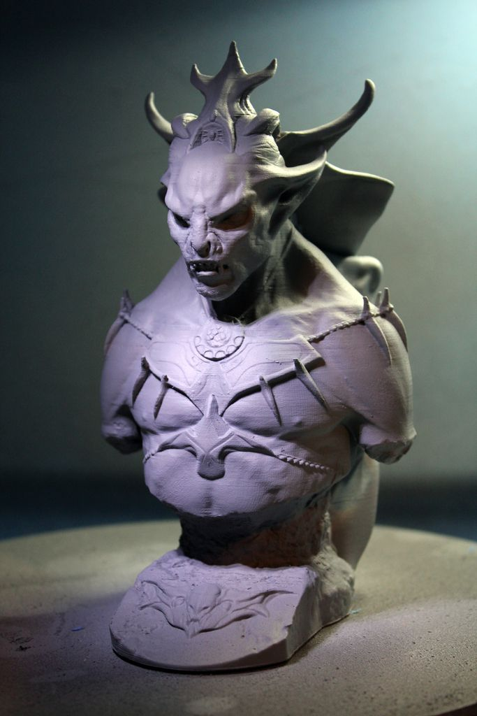 Skyrim dawnguard vampire lord by vsions thingiverse collection i took the zbrush model i created for the vampire lord in skyrim dawnguard dlc and created this printed vampire lord bust skyrim dawnguard vampire lord 2 voltagebd Choice Image
