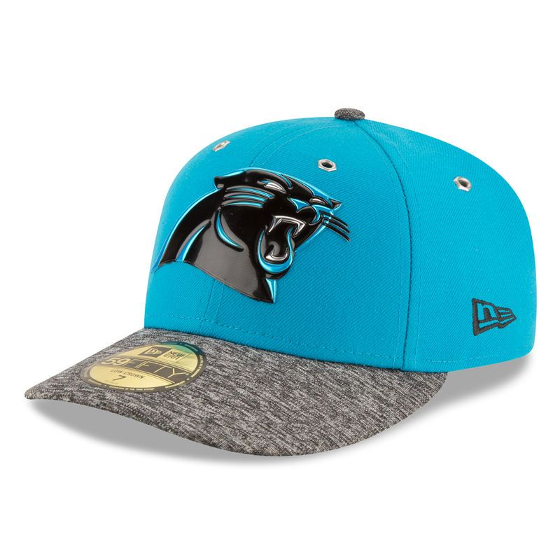 eda0e4ebc31 Carolina Panthers New Era On Stage Low Profile 59FIFTY Fitted Hat - Blue