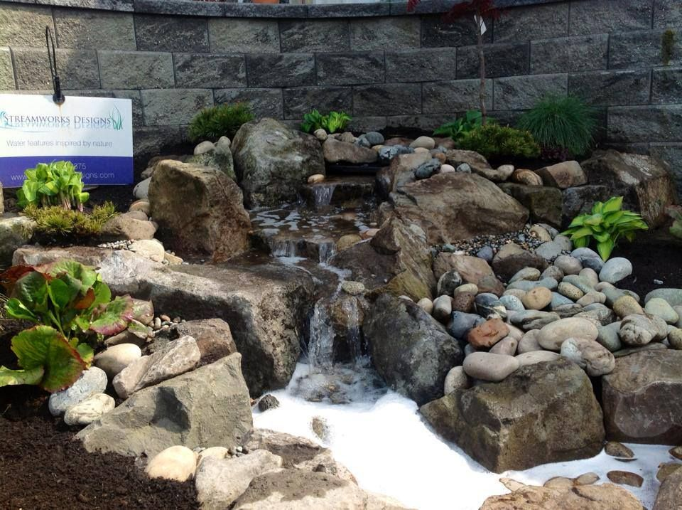 Waterfall created by Streamworks Designs in North ...