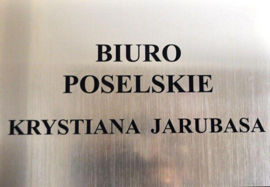 Otwarcie biura poselskiego Posła Krystiana Jarubasa