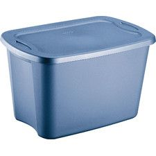 10 Gallon Storage Tote Box Set Of 9 Plastic Box Storage Storage Bins Plastic Storage Bins