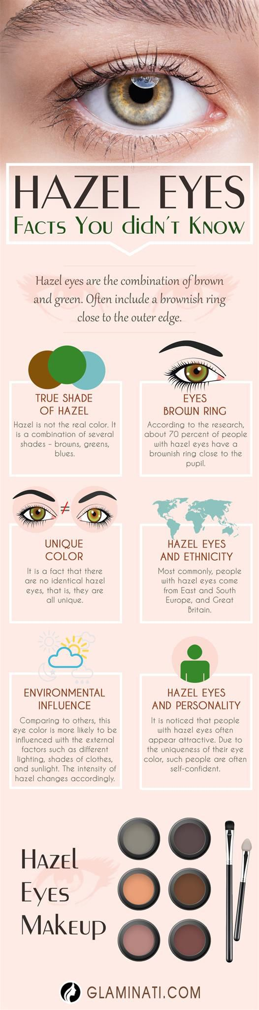 30 cool makeup looks for hazel eyes and a tutorial for