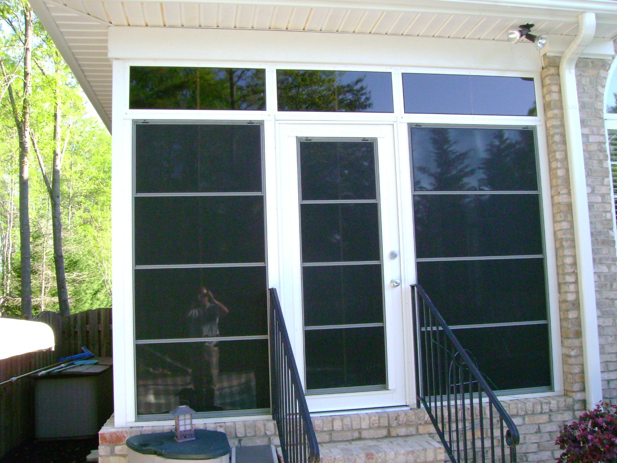 Eze-Breeze Porch Enclosure - Cabana Door & Eze-Breeze Porch Enclosure - Cabana Door | Porches | Pinterest ...