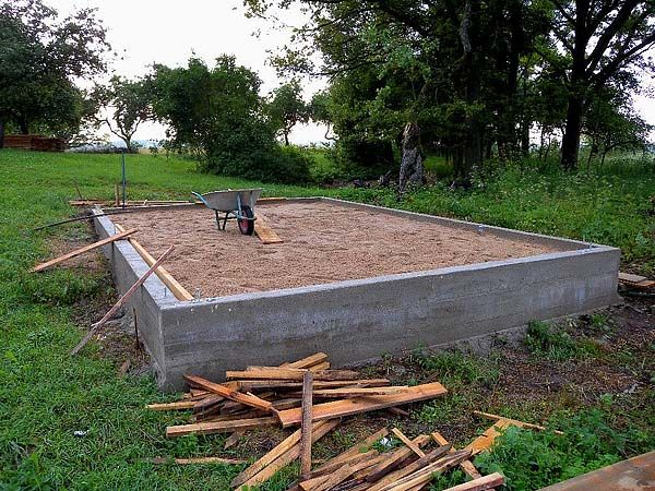 Thermal mass foundation tiny house mechanics pinterest for Foundation tiny house builders