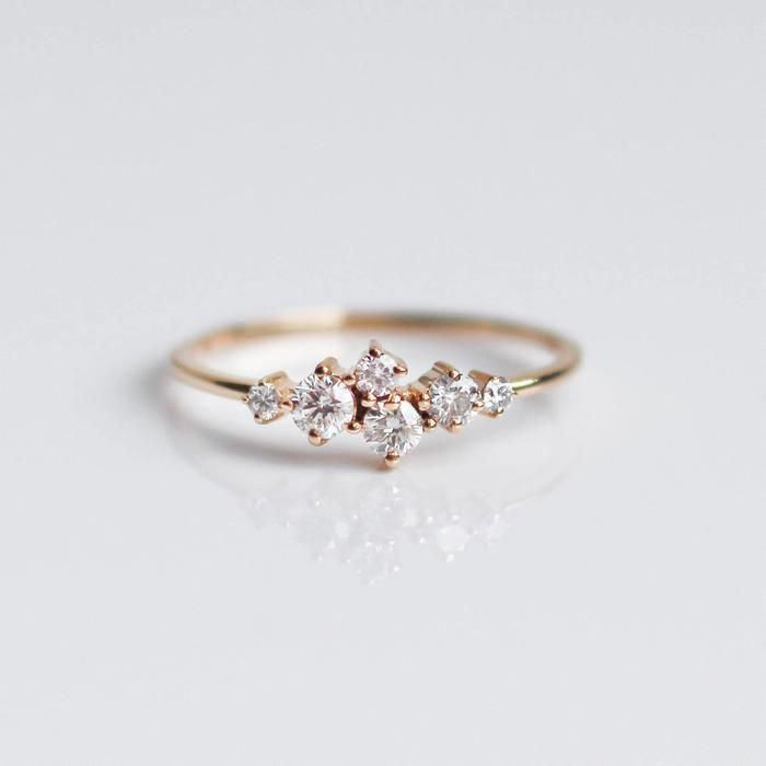 Diamond Sleeping Beauty Band #engagementrings