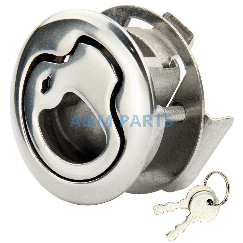 Locking Boat Access Door Latch With 2 Keys