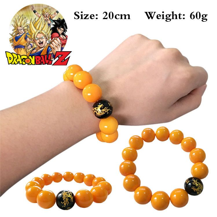 Dragon Ball Z Super Figure Agate Crystal Bracelet Anime Action Character Figure