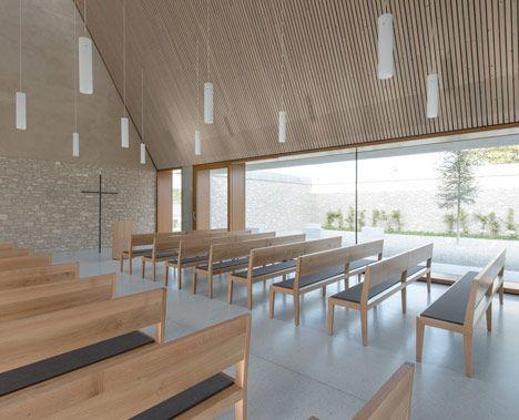 Architekt Weinheim funeral chapel in ingelheim weinheim by bayer strobel