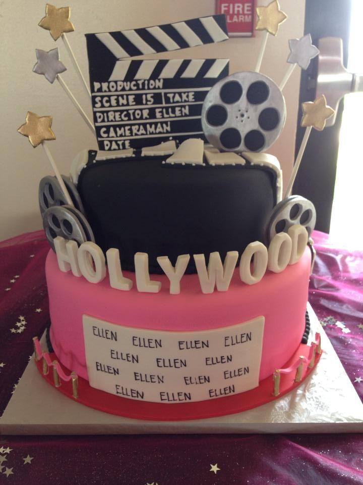 Astonishing Hollywood Red Carpet Birthday Cake Sugarnomics Cake Studio Guam Funny Birthday Cards Online Overcheapnameinfo