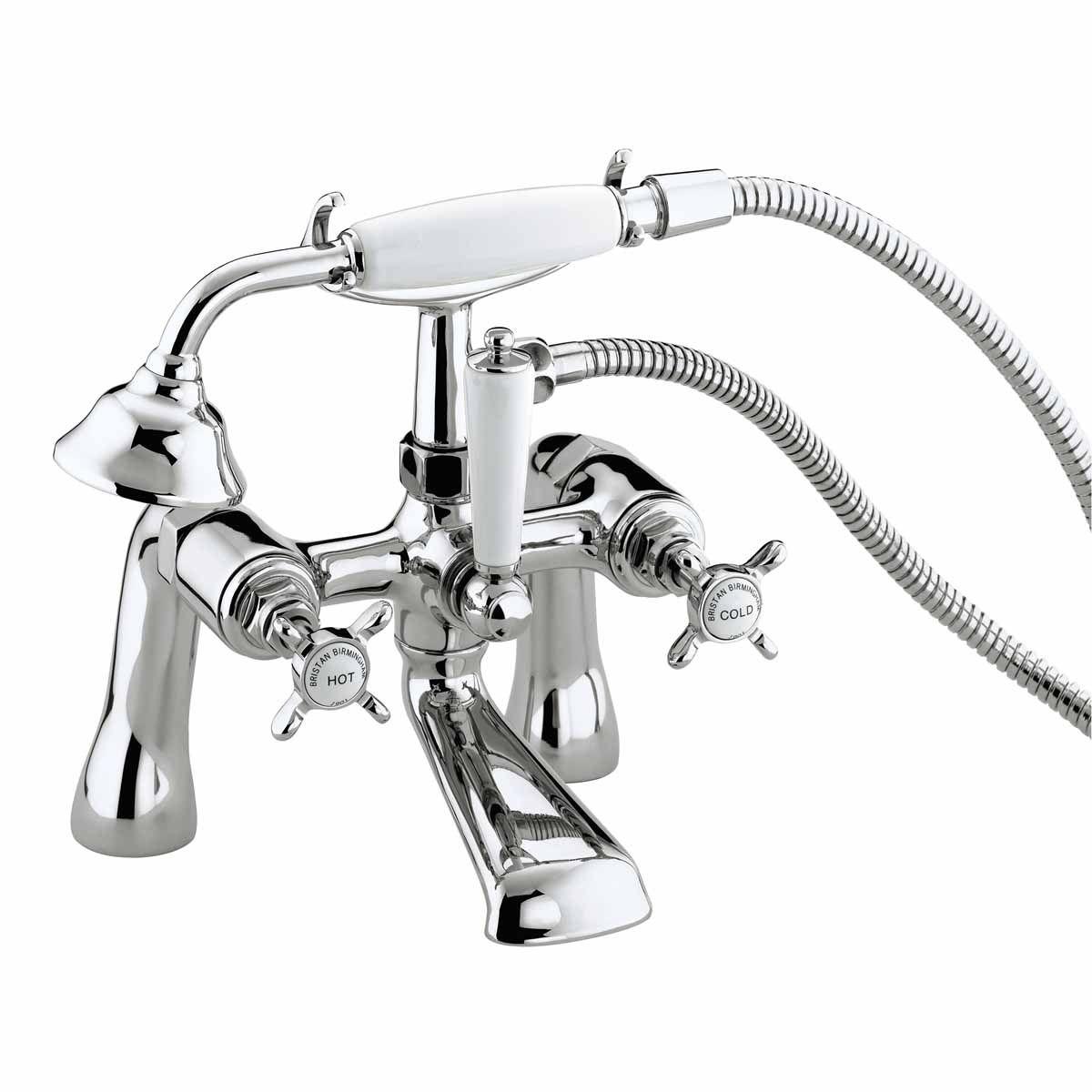Bristan 1901 Pillar Bath Shower Mixer Tap N BSM C CD | Bath shower ...