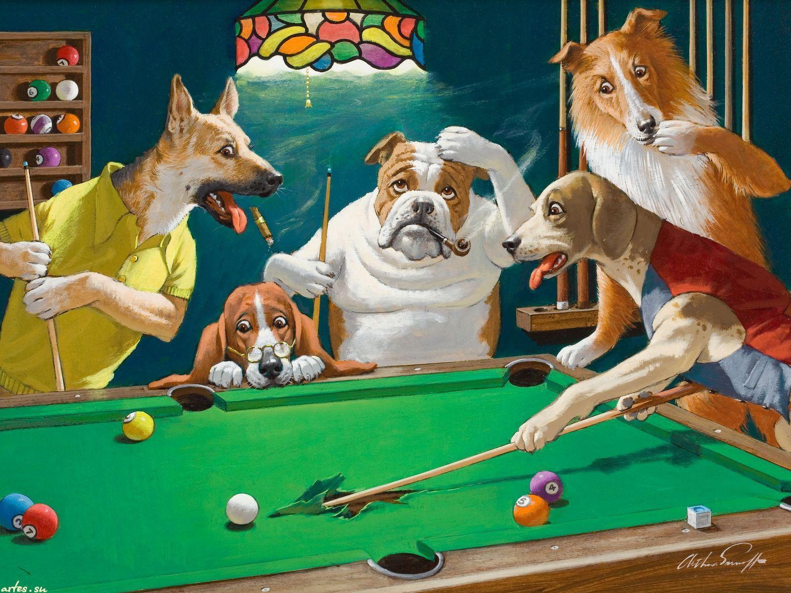 7934 5 Jpg 1600 1200 Cartel De Perro Perros Jugando Poker Pintura Perro