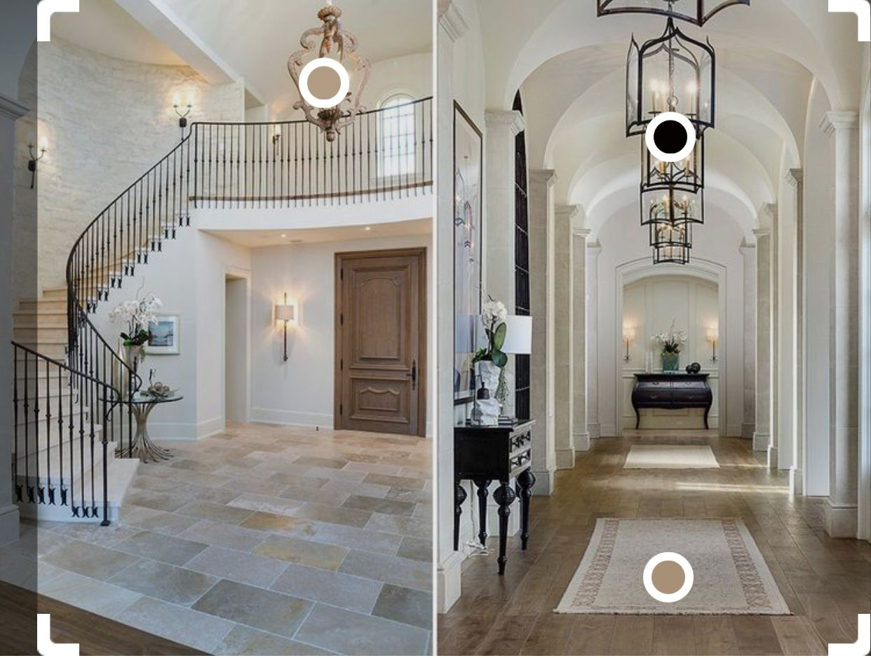 Color Combos Kim And Kanye House Mansion Interior Celebrity Houses