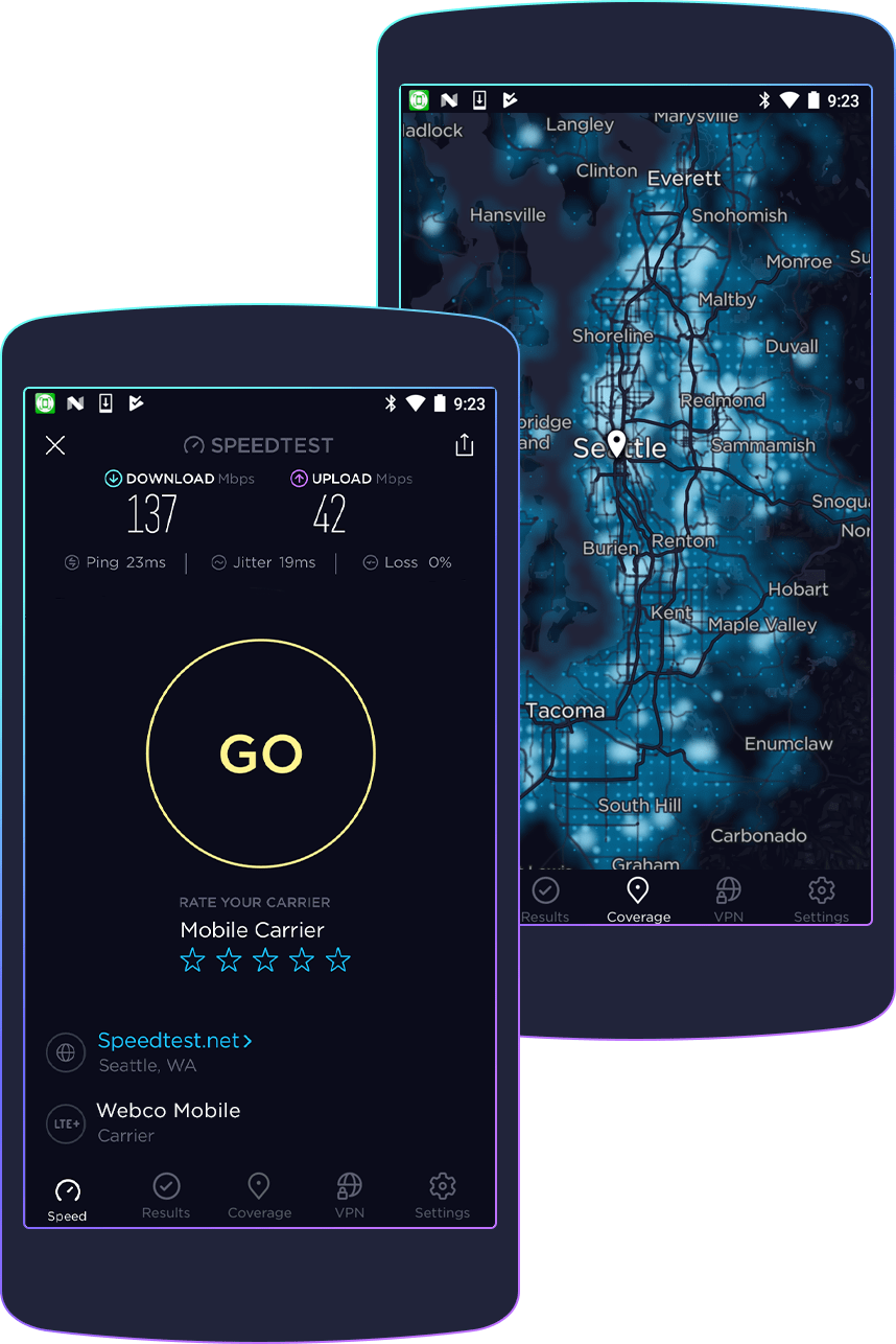 Speedtest for Android Download Speedtest from the Google