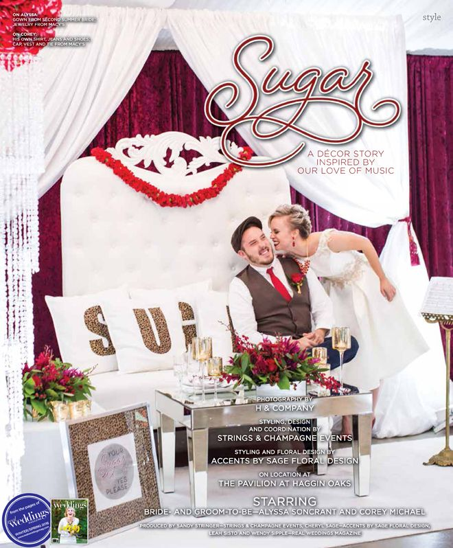 Sacramento Wedding Inspiration: Sugar-A Decor Story