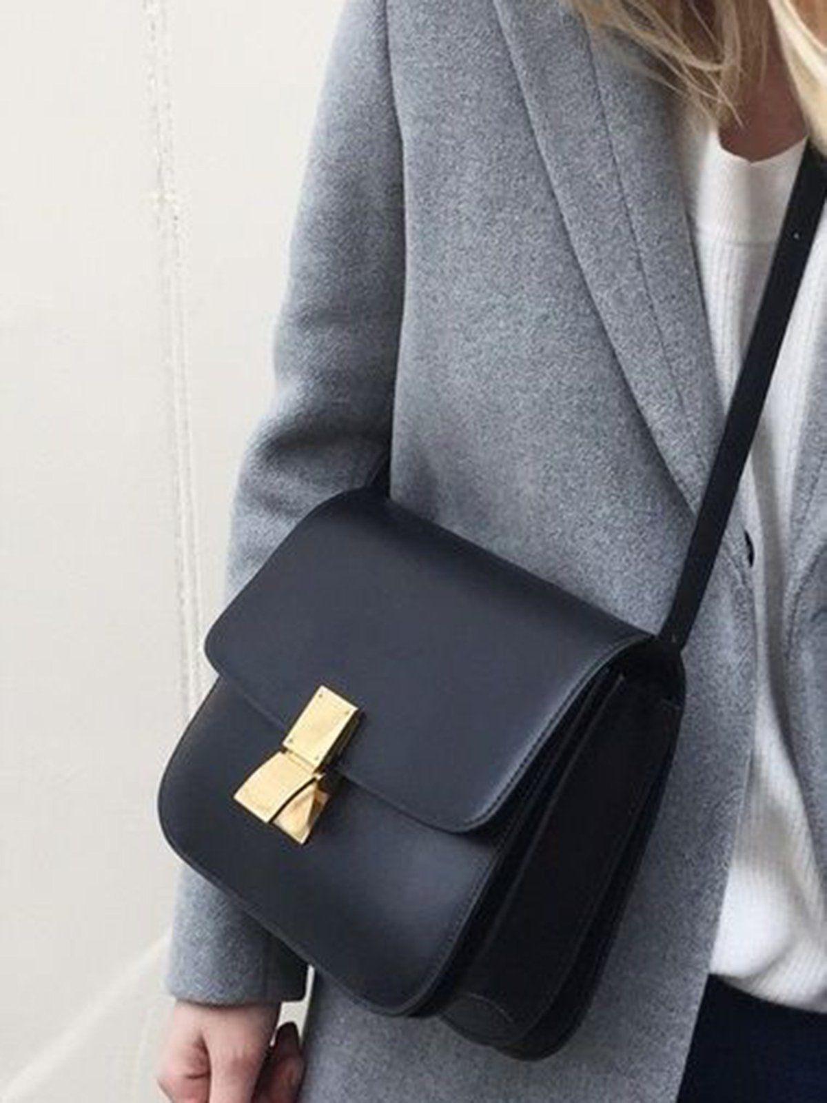 Cute Leather Box Bag W T I Design Classic Bags Fashion Bags