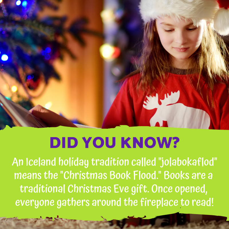 Did You Know Giving And Opening Books On Christmas Eve Is A Long Standing Icelandic Tradition Called T Christmas Eve Gift Gifts For Bookworms Christmas Books