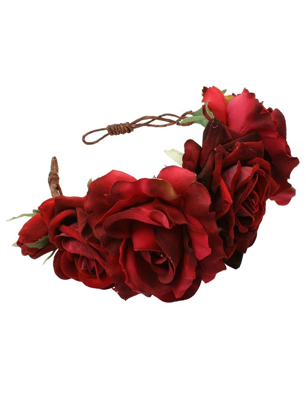 Beatrice oversized floral crown headband rock n rose from rock n beatrice oversized floral crown headband rock n rose from rock n rose uk izmirmasajfo