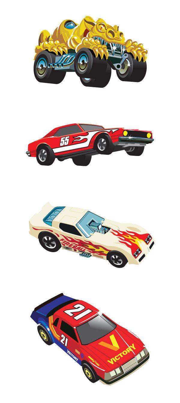 80s car toys  us Hot Wheels Cars by Andy Cake via Behance  Hot Wheels Models