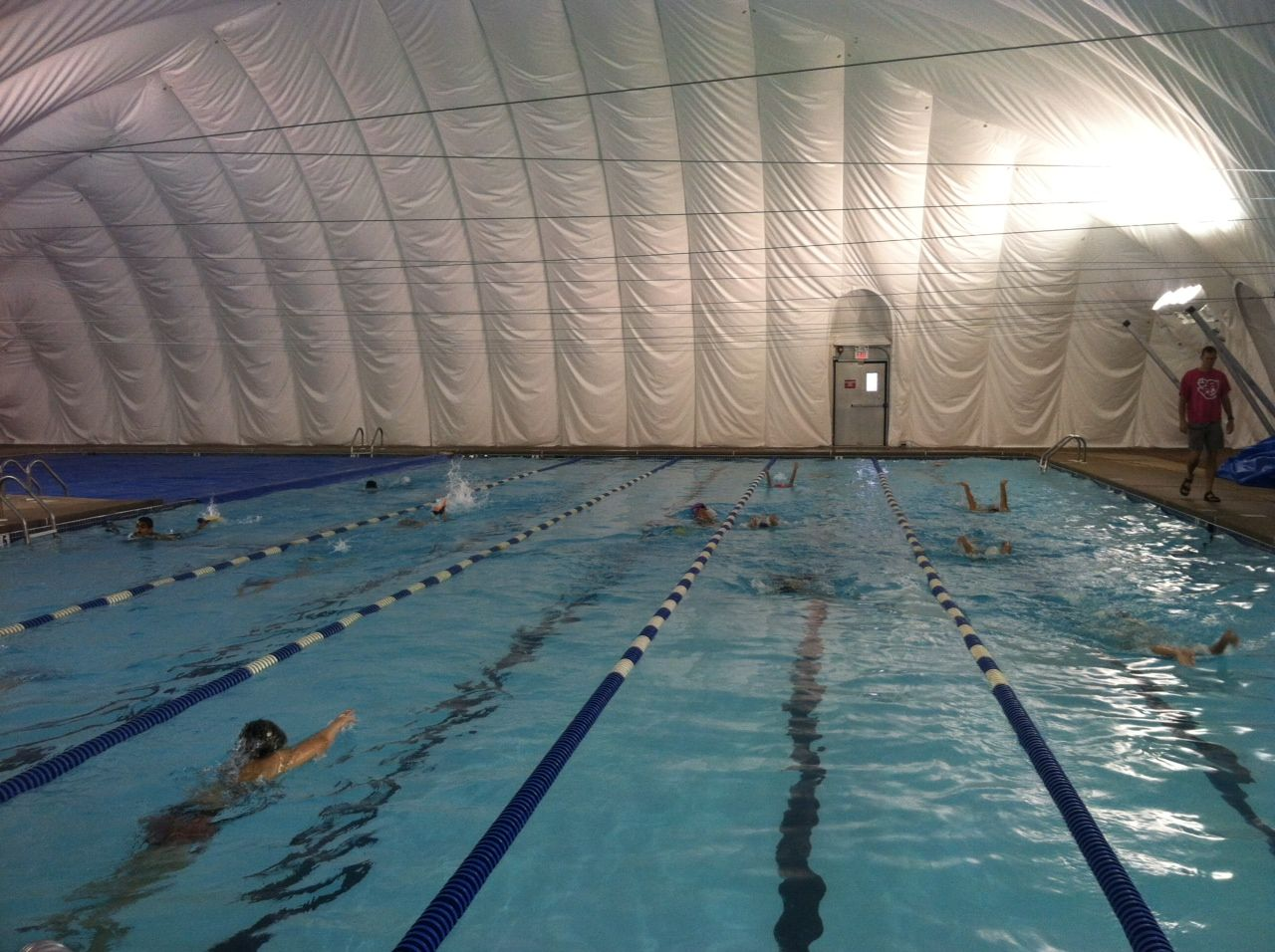 swimming pool bubble - Google Search | swimming pool bubble dome ...